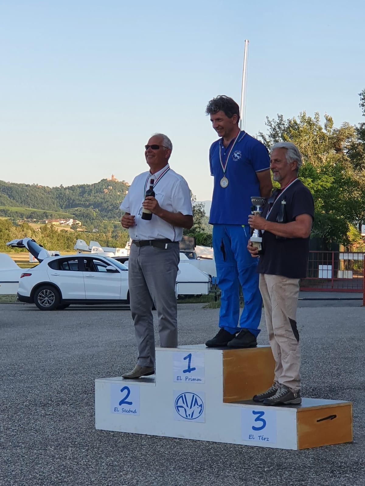 GIANCARLO GRINZA Campione Italiano Classe Libera