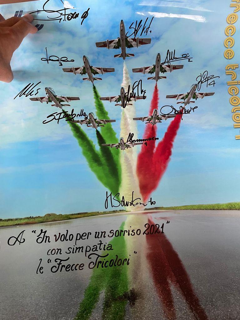 Dedica della Pattuglia Acrobatica Nazionale (PAN)